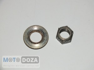 Гайка заднего колеса d=16 mm б/у