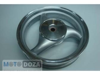 Диск задний 2,50*12 (барабан.тормоз d=110 19 щлиц.)