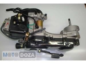 Двигатель GY6-80 (колесная база 12-14) (в сборе)