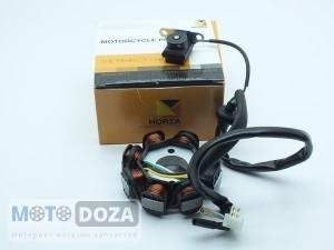 Генератор GY6-50/80 (6 полюсов 5 контактов)