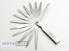 Щупы для регулеровки зазоров клапанов ( 0.05 - 1.00mm ) к-кт
