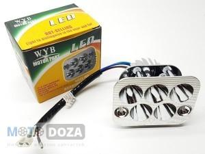Лампа диодная LED (комплект) DELTA ( квадратная фара )
