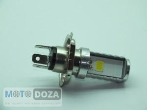 Лампа диодная LED (бол. цоколь) H4