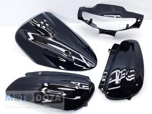 Комплект пластика JOG SA 04/12 (чёрный)