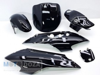 Комплект пластика LETS 1 disc (чёрный)