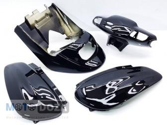 Комплект пластика YAMAHA POCHE JOG SA08 (чёрный)