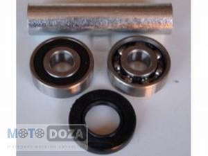 Подшипники переднего колеса+втулка GY6-150 (6302)
