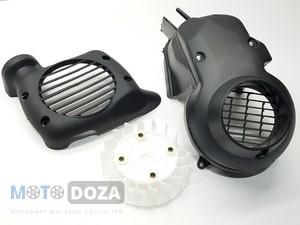 Вентиляторы охлаждения двигателя, кожухи вентилятора